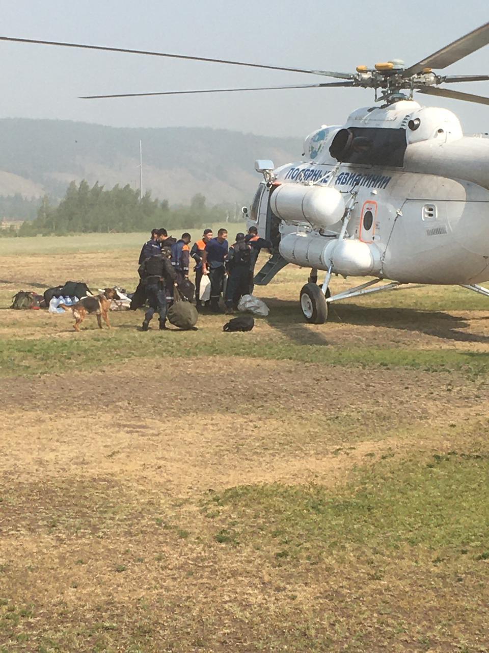Спасатели вылетели в Томпонский район Якутии на поиски пропавшего ребенка