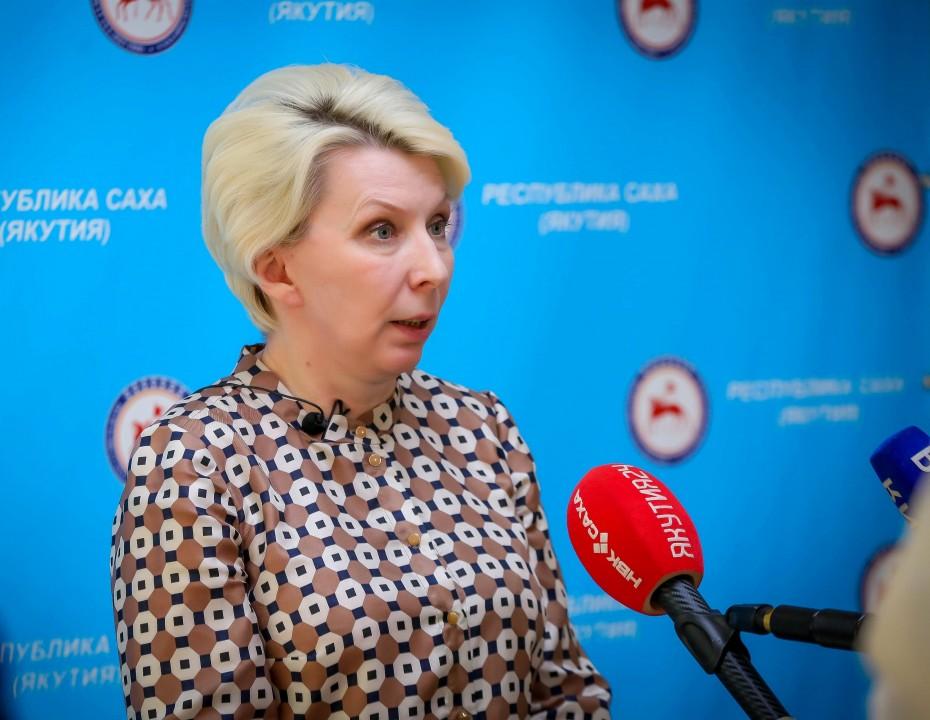 Брифинг Ольги Балабкиной об эпидобстановке на 23 июля: трансляция «Якутия 24»