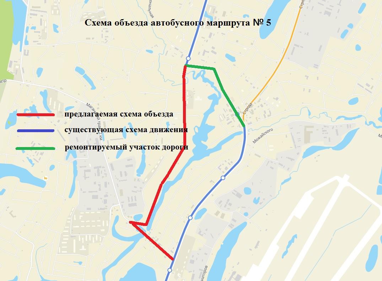 Движение транспорта по улице Советская в Мархе временно ограничат 23 июля