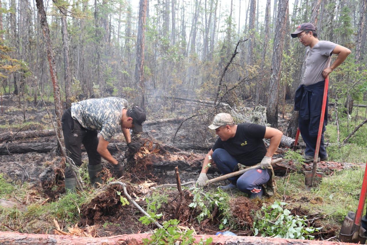 Глава Малтанинского наслега в Якутии рассказал о ситуации с лесными пожарами
