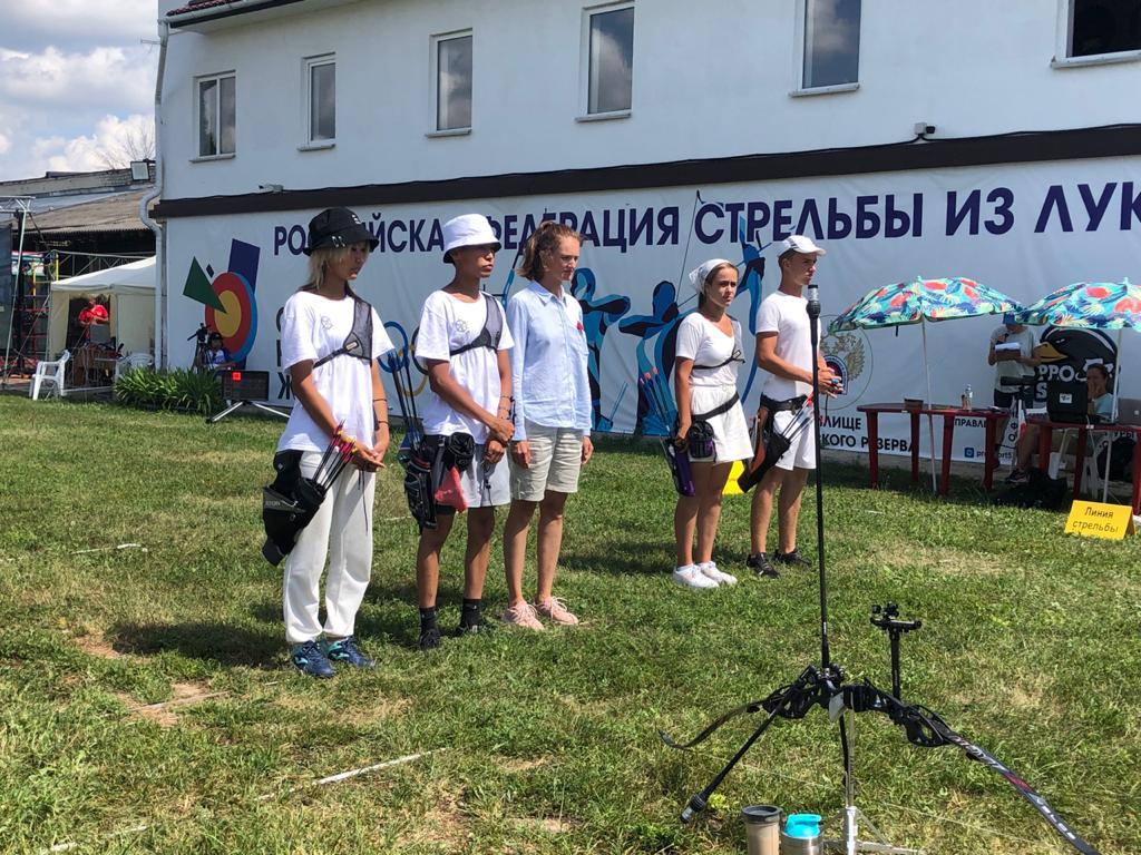 Якутяне завоевали серебро первенства России по стрельбе из лука
