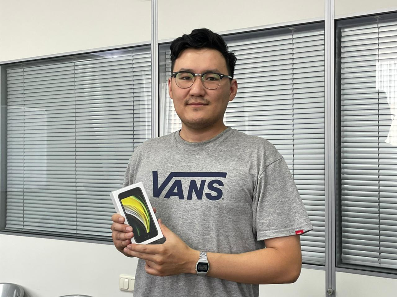 Первые победители акции #СтопКоронавирусЯкутия получили смартфоны