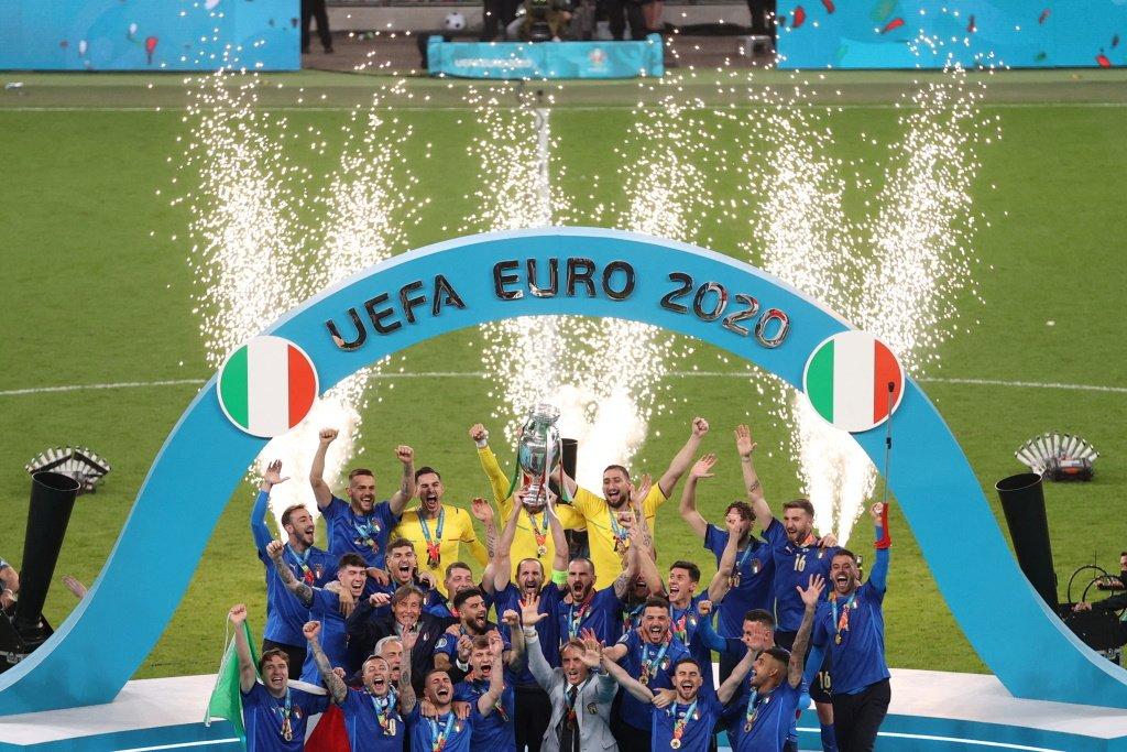 Сборная Италии стала победителем чемпионата Европы по футболу
