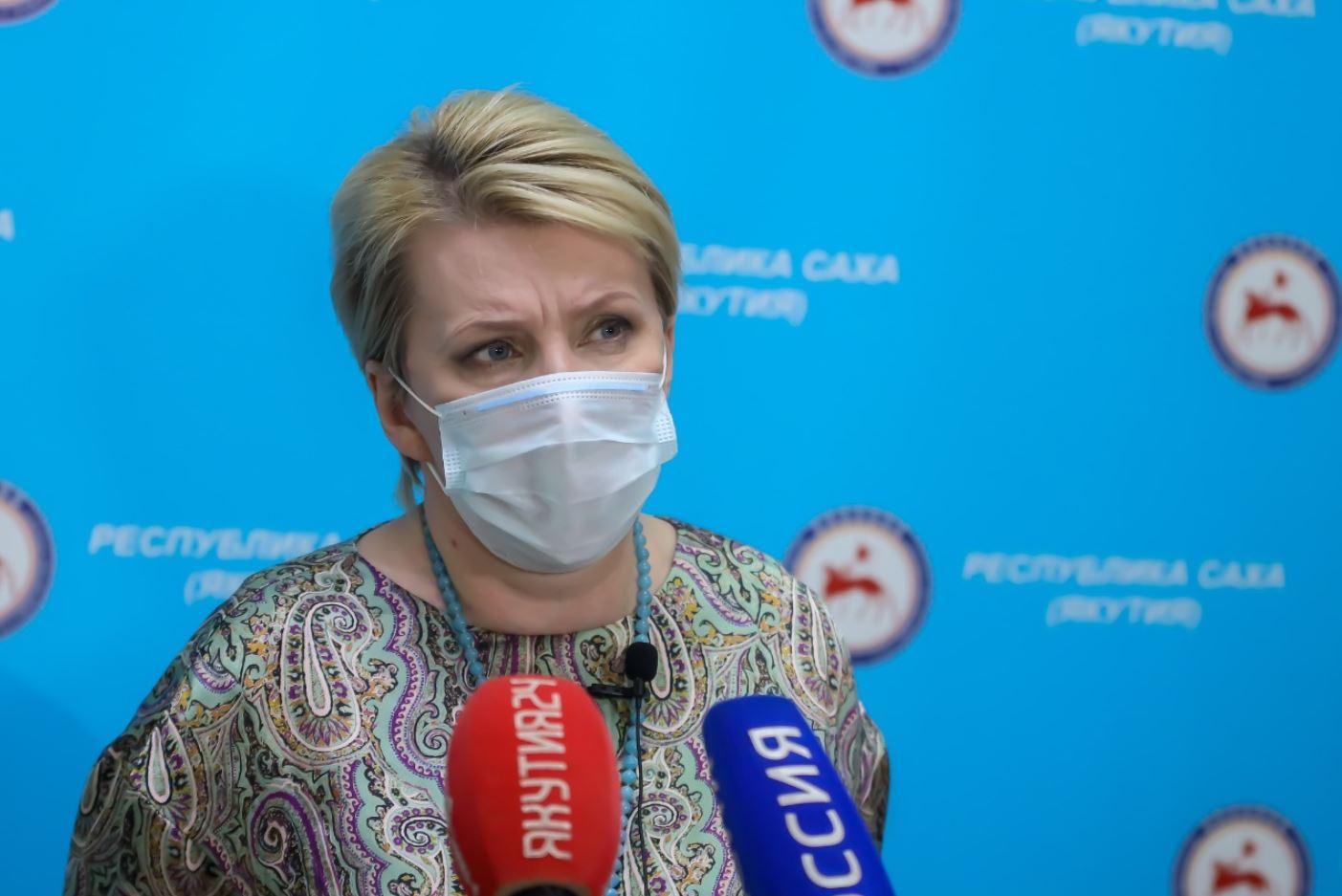 Брифинг Ольги Балабкиной об эпидобстановке на 19 июля: трансляция «Якутия 24»