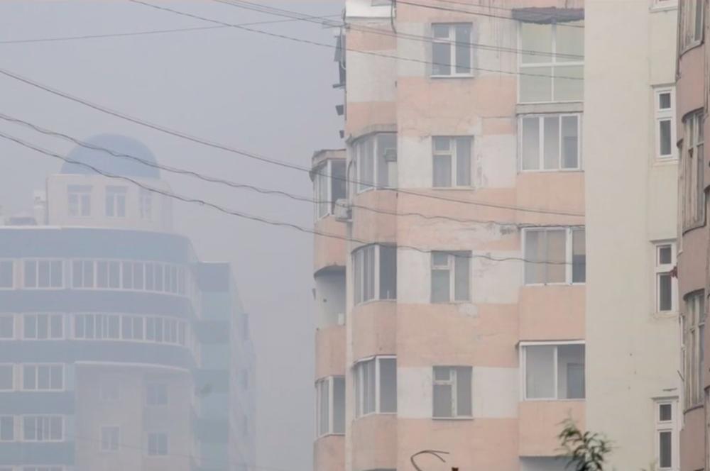 Якутск и 17 населенных пунктов находятся в зоне задымленности из-за пожаров