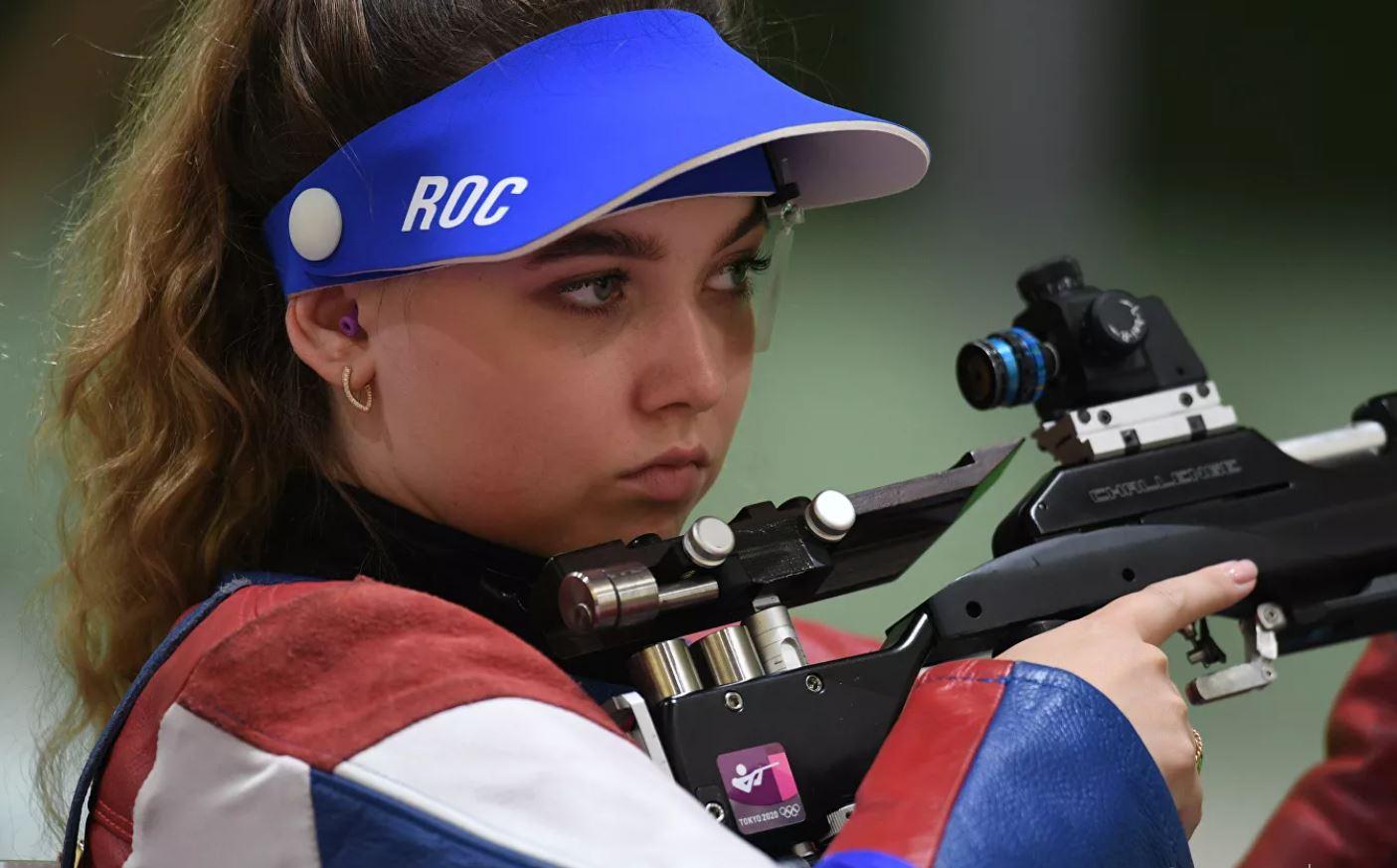 Россиянка Анастасия Галашина завоевала серебро Олимпиады стрельбе из винтовки