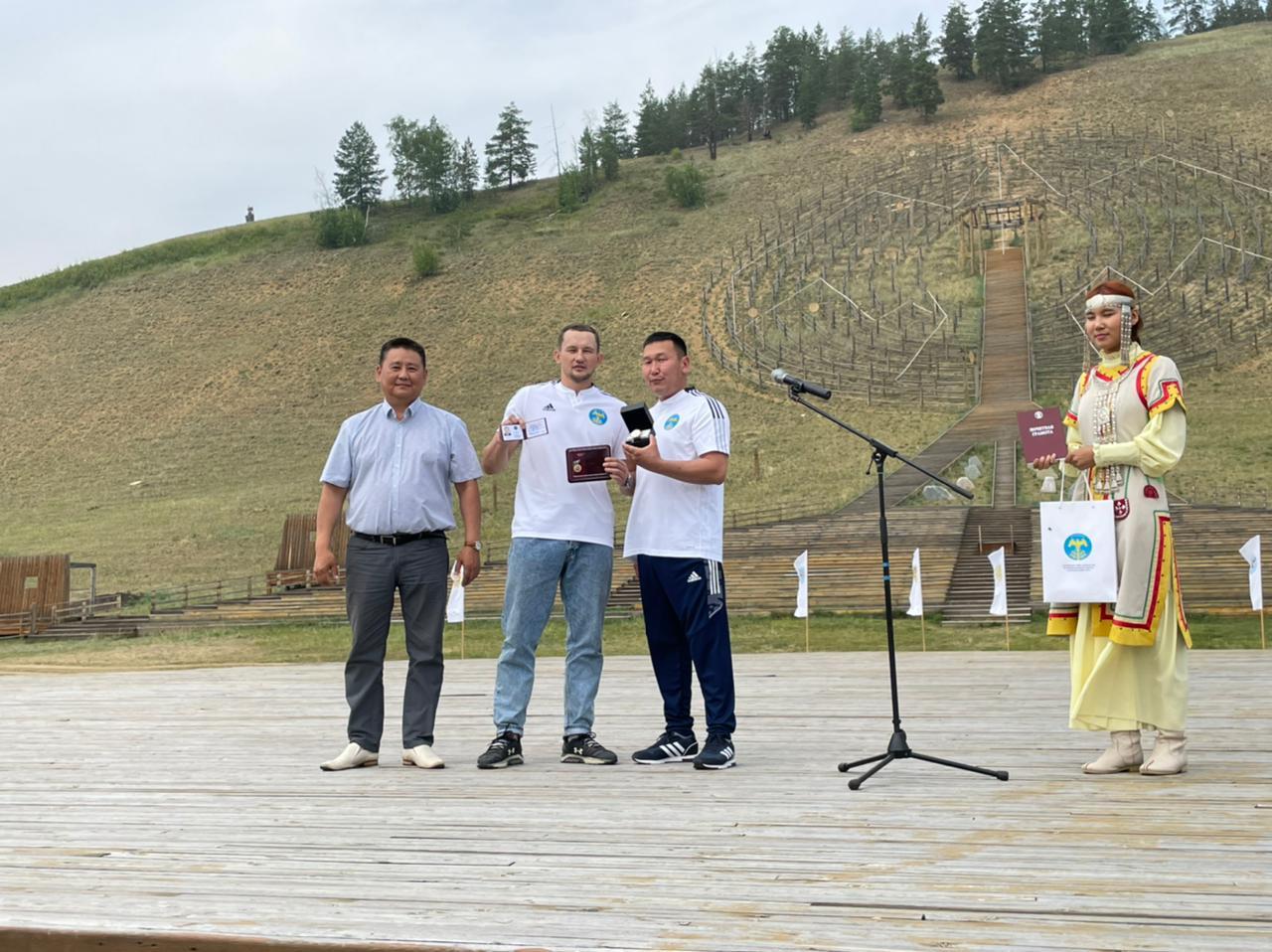Чемпиону Игр Дыгына Егору Филиппову присвоили звание «Почетный гражданин Хангаласского района»