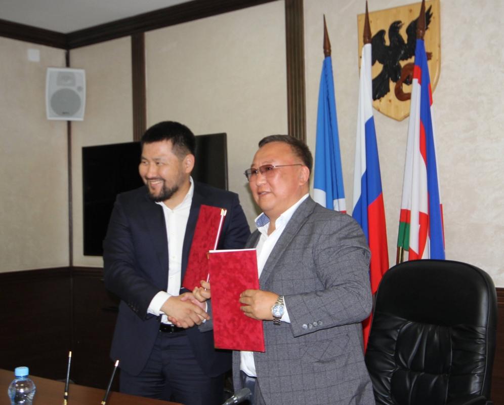Якутск и Мегино-Кангаласский район подписали соглашение о сотрудничестве