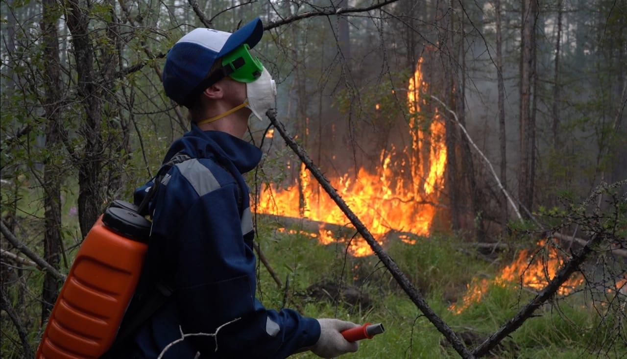 14 лесных пожаров ликвидировали в Якутии за сутки
