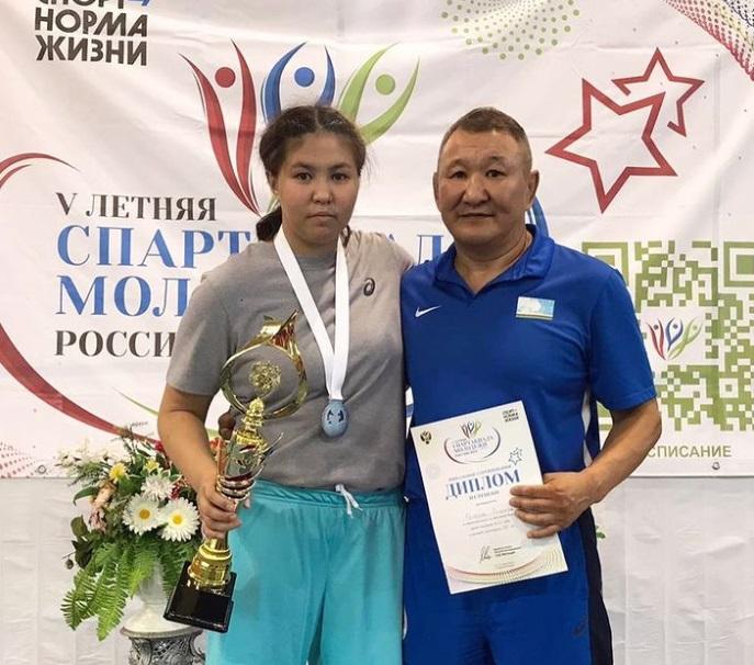 Якутянка завоевала серебро в Спартакиаде молодежи России