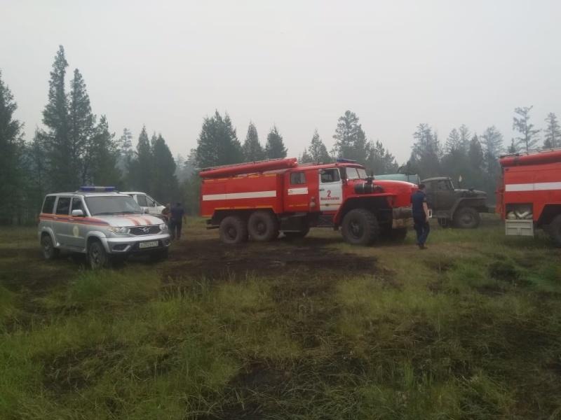 Более 10 лесных пожаров ликвидировали в Якутии за сутки