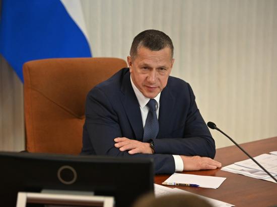 Полпред президента РФ в ДФО Юрий Трутнев прибыл в Якутию