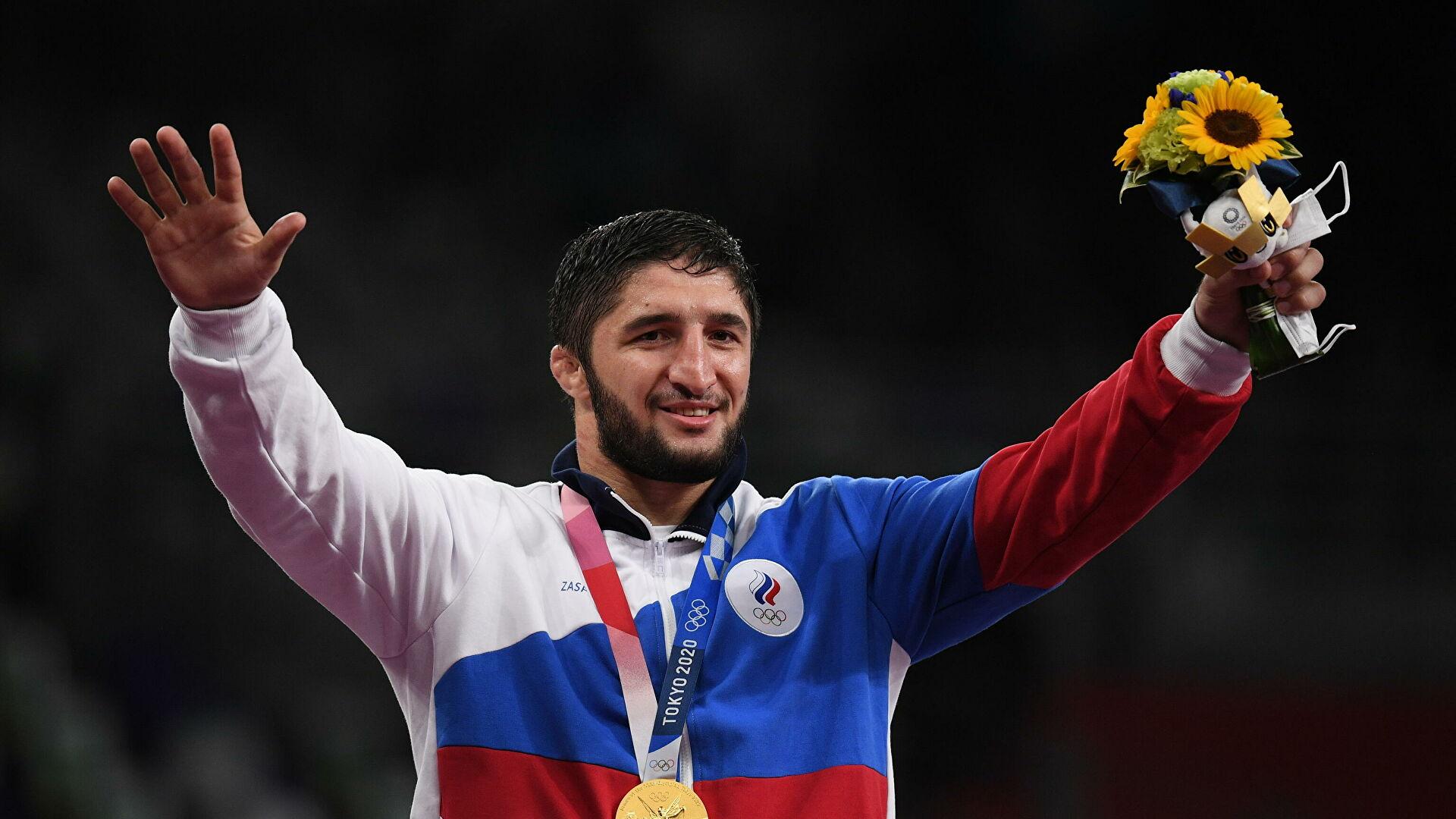 Абдулрашид Садулаев станет знаменосцем сборной России на закрытии Олимпиады