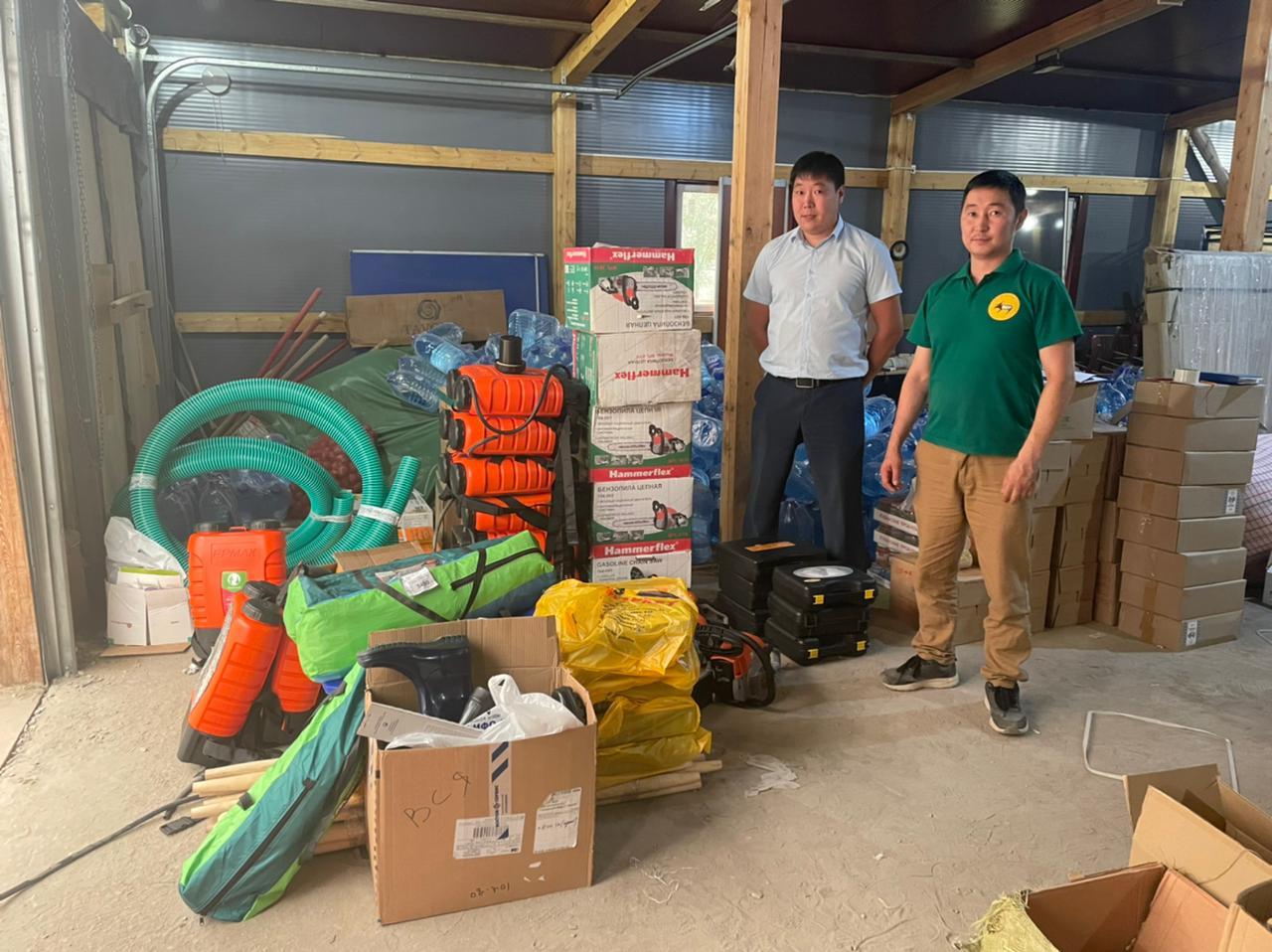 Бизнес Якутии активно помогает пострадавшим от пожара в селе Бясь-Кюель