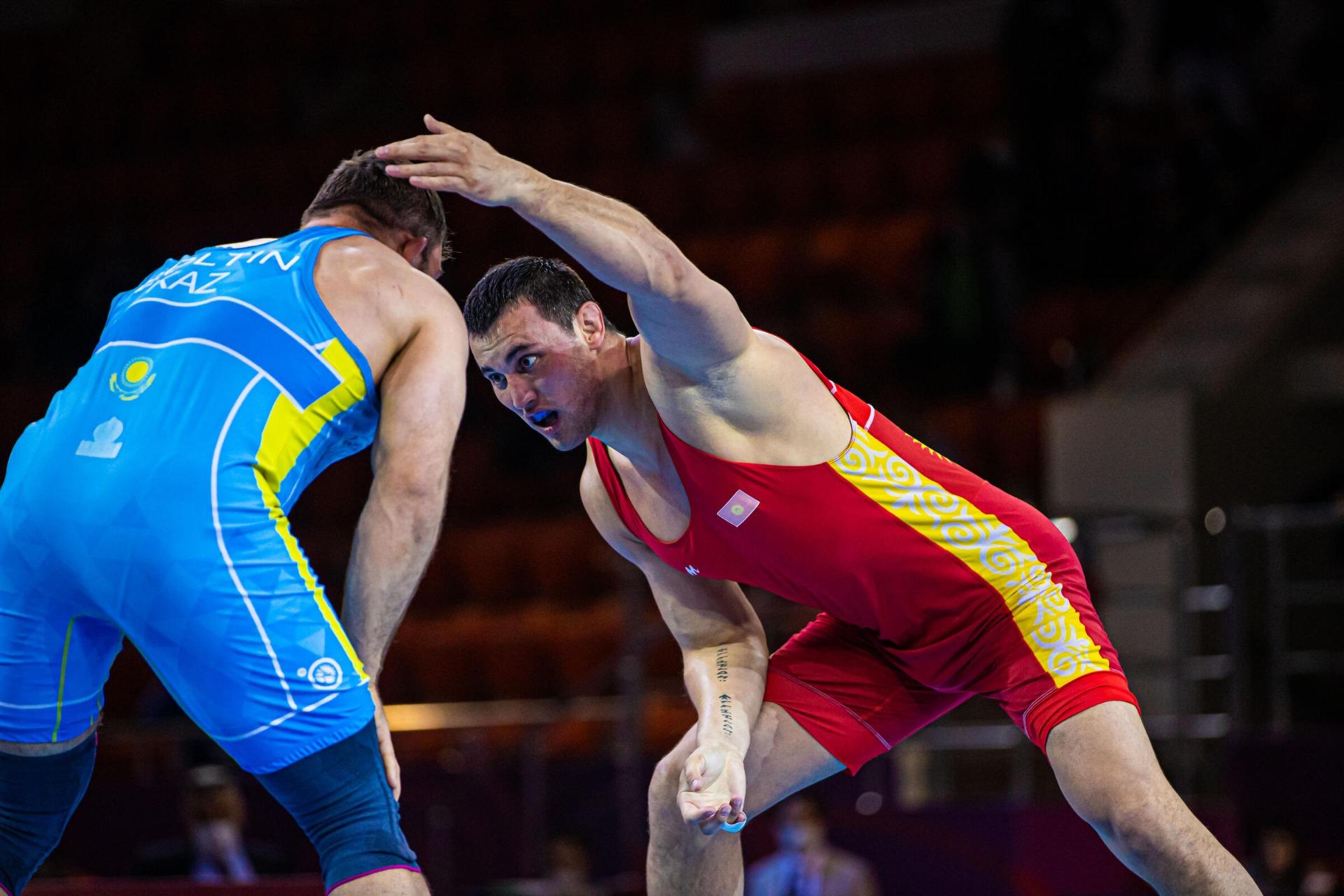 Айаал Лазарев уступил турку в утешительной схватке Олимпийских игр