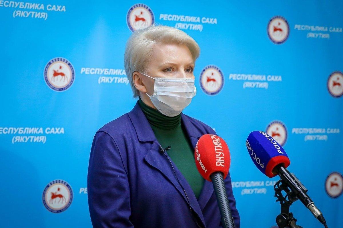 Брифинг Ольги Балабкиной об эпидобстановке на 18 августа: трансляция «Якутия 24»