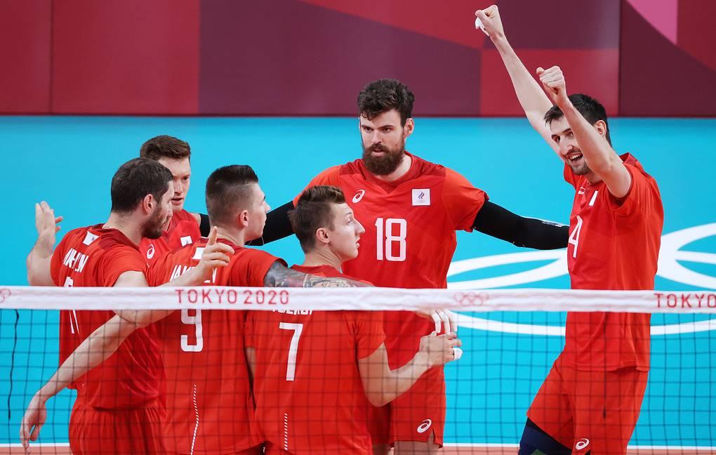 Российские волейболисты вышли в финал Олимпиады