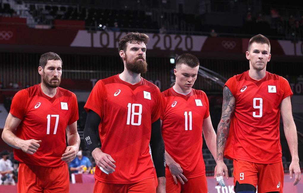 Российские волейболисты стали серебряными призерами Олимпийских игр