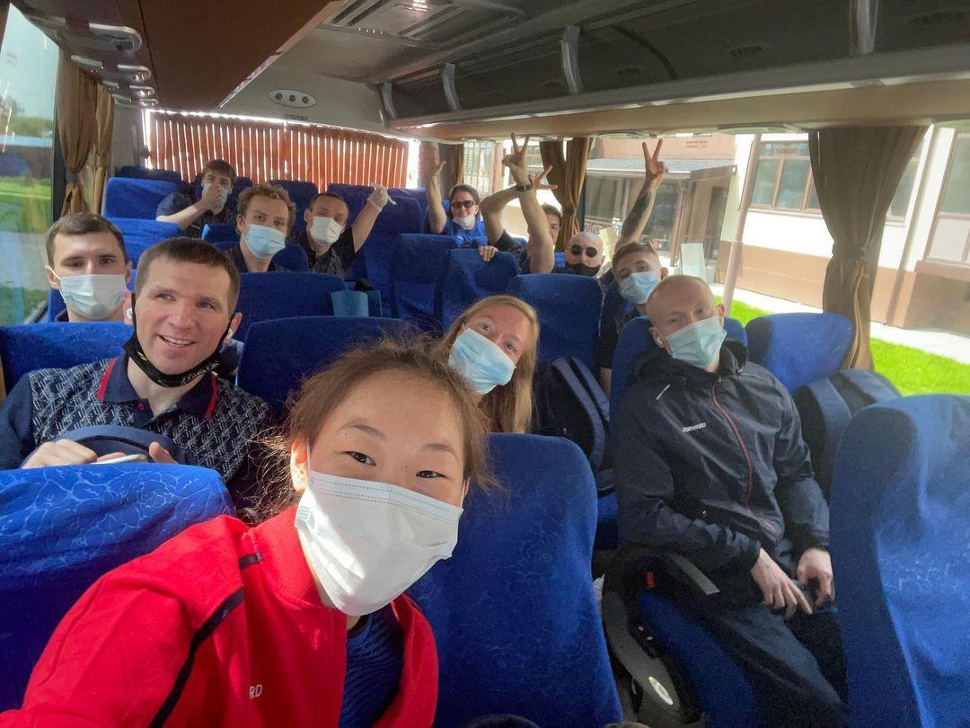 Анастасия Диодорова выехала на Паралимпийские игры в Токио