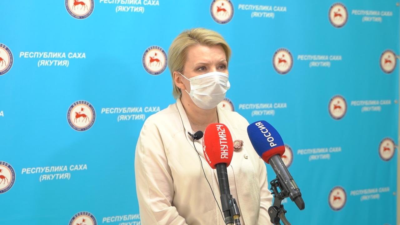 Брифинг Ольги Балабкиной об эпидобстановке на 30 августа: трансляция «Якутия 24»