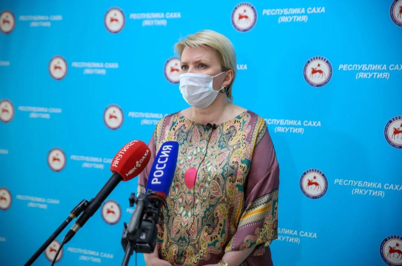 Брифинг Ольги Балабкиной об эпидобстановке на 20 августа: трансляция «Якутия 24»