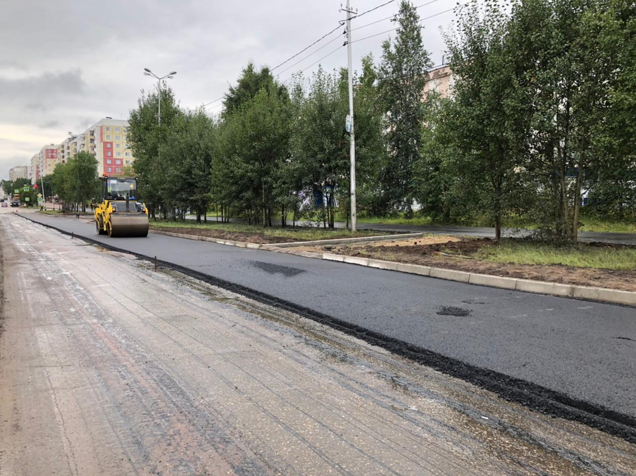 Первый этап капремонта проспекта Ленина проводят в Нерюнгри