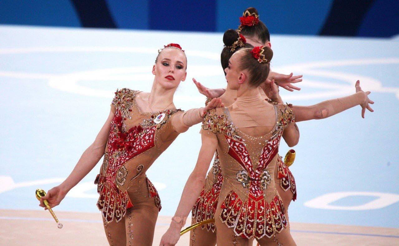 Сборная России по художественной гимнастике завоевала серебро Олимпиады в Токио