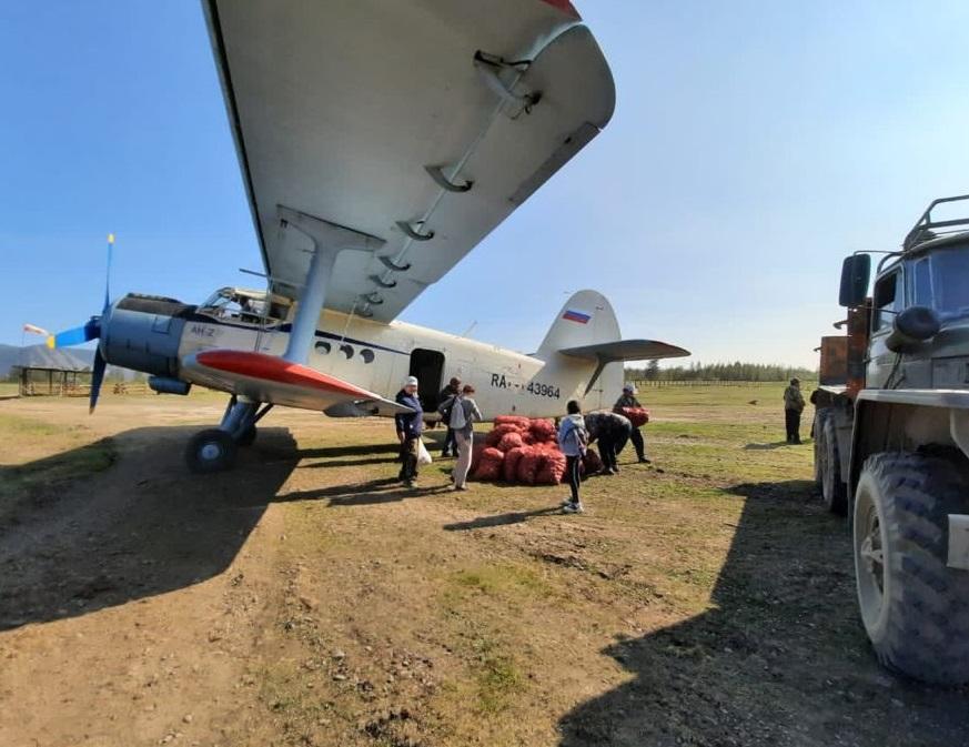 Почти 62 тонны картофеля доставят самолетами в арктические районы Якутии