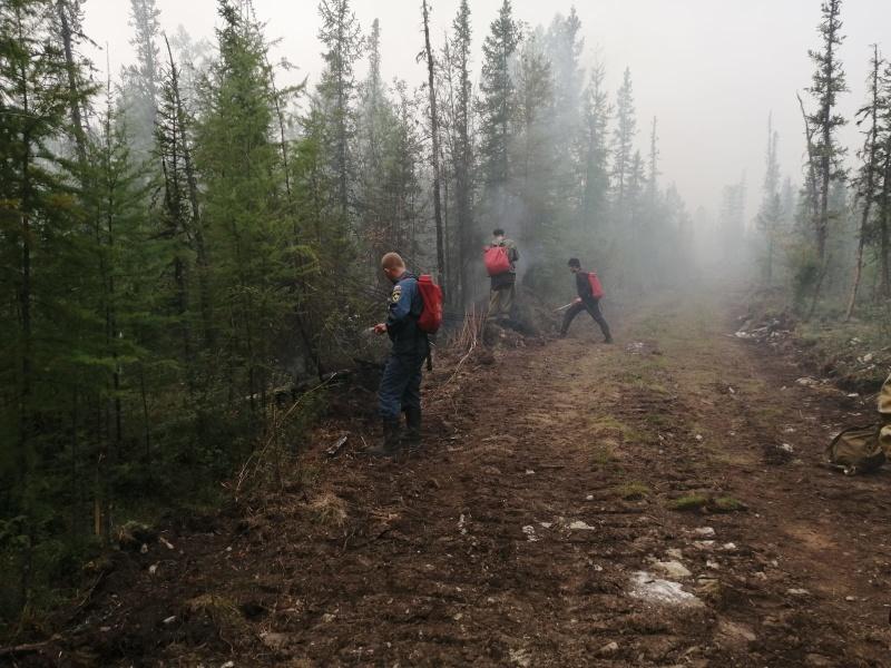 Глава Кобяйского района Якутии сообщил о лесопожарной ситуации в селе Ситте