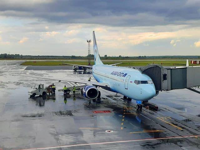 АЛРОСА отменила ряд рейсов из-за задымления в Мирнинском районе Якутии