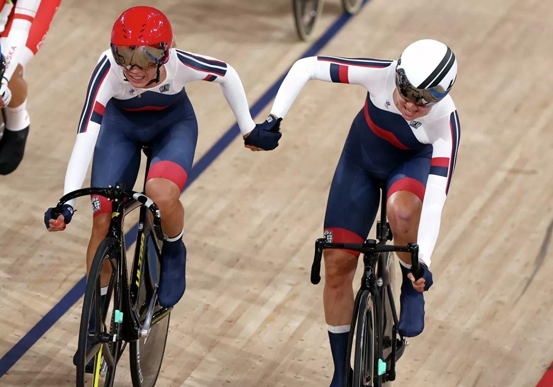 Российские велогонщицы завоевали бронзу Олимпийских Игр в Токио