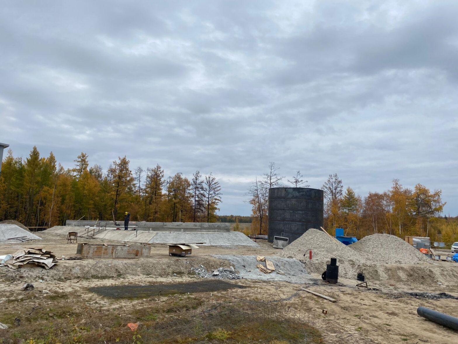 Водоочистную станцию в якутском селе Бердигестях введут в 2022 году