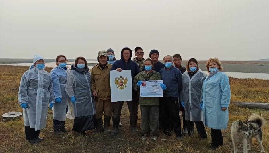 Досрочное голосование организовали в труднодоступных местностях Булунского района Якутии