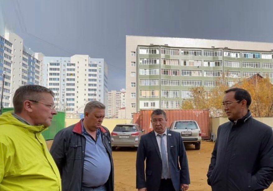 Тепло не подали в шесть домов в Якутске