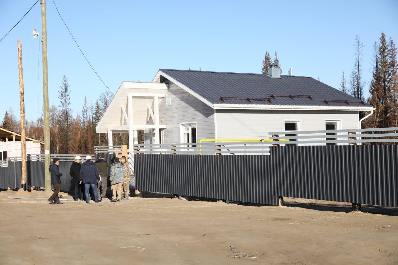 Ежедневно по 2-3 дома начнут вводить в якутском селе Бясь-Кюель с 29 сентября