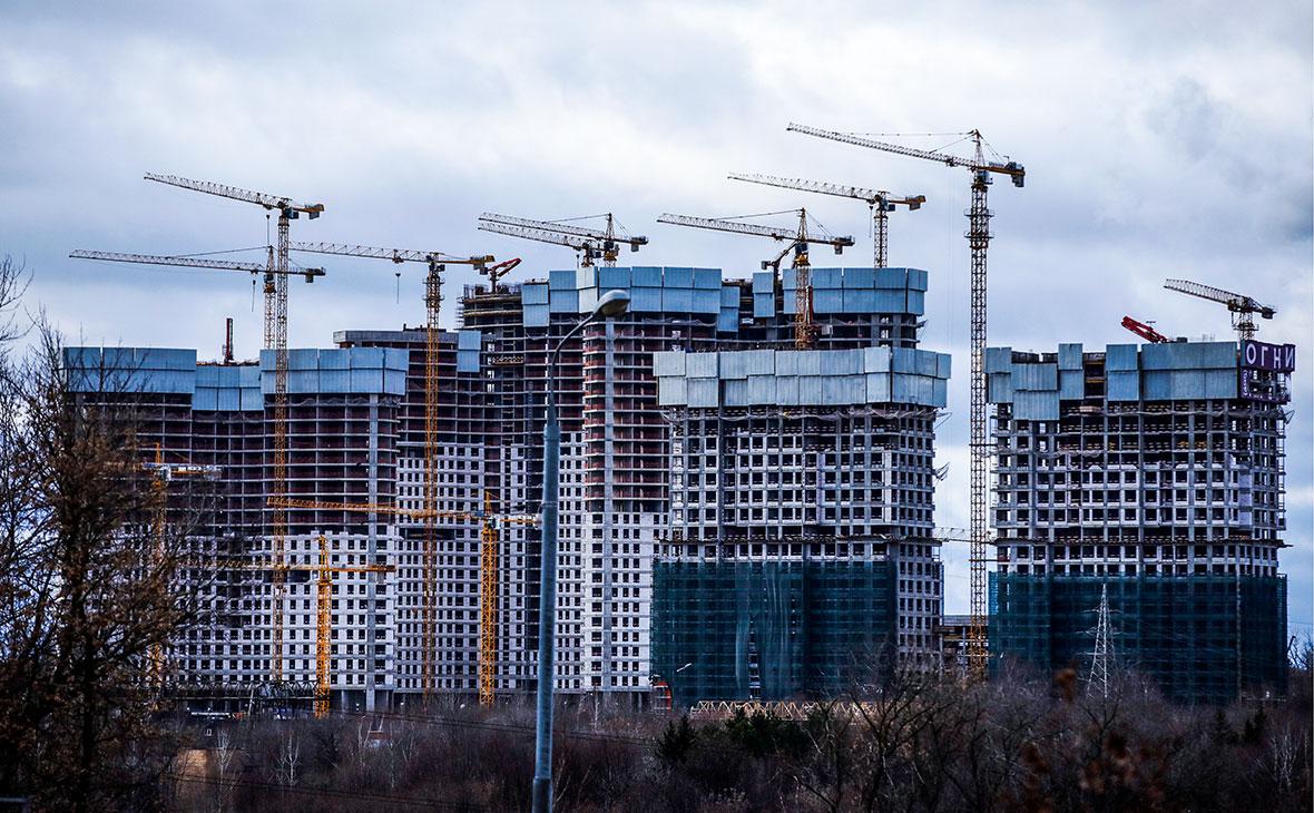 Объем ввода жилья в России вырос на 31% с января 2021 года