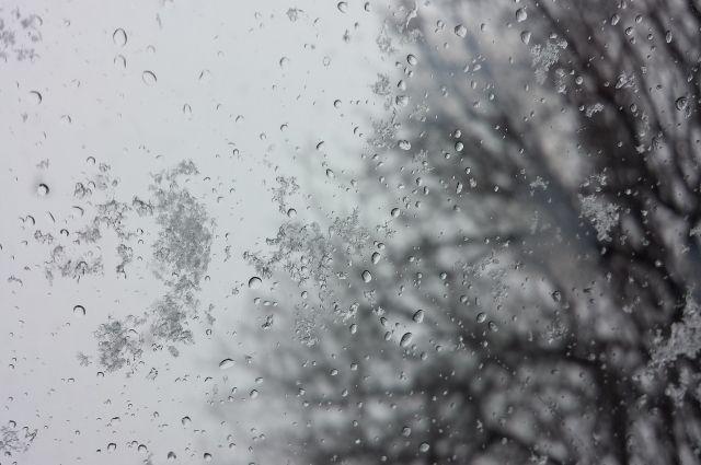 Дождь и мокрый снег ожидаются в Алданском и Нерюнгринском районах Якутии