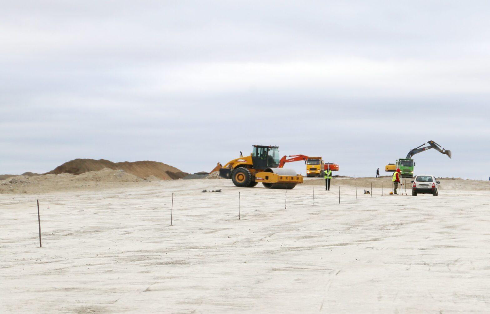 Более 21 млрд рублей направили на строительство нового аэропорта в Мирном в Якутии