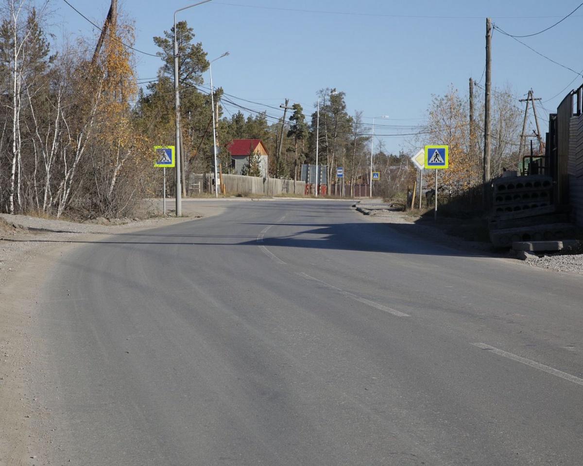 Основные работы по асфальтированию улиц завершили в Якутске
