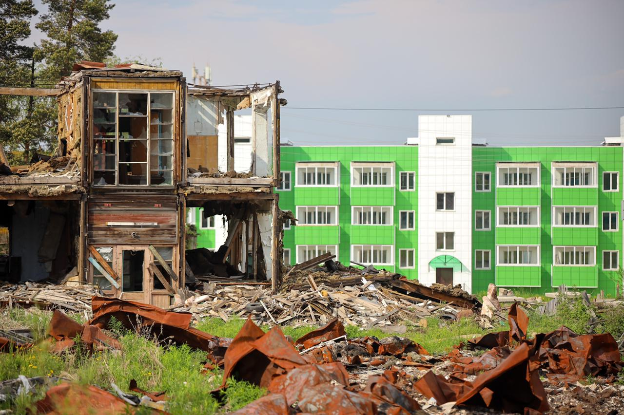 Более 18 тысяч якутян заключили контракты на переселение из аварийного жилья