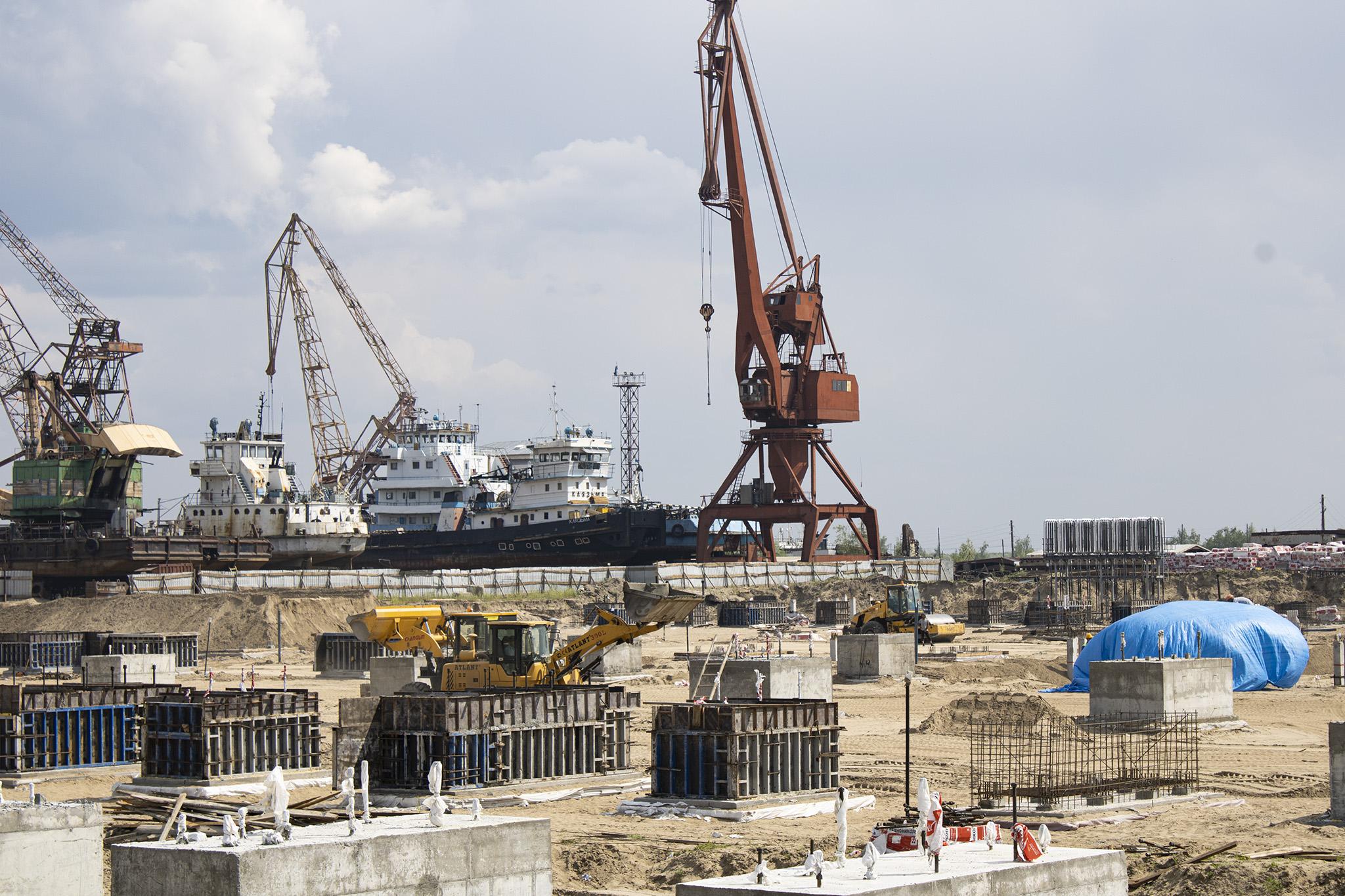 Ввод Жатайской судоверфи в Якутии перенесли на 2022 год