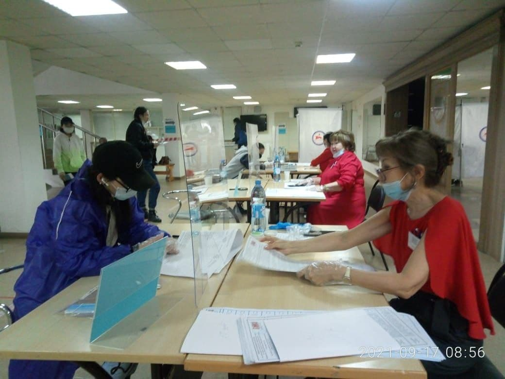 Явка на выборах в Якутии составила более 15% в первый день