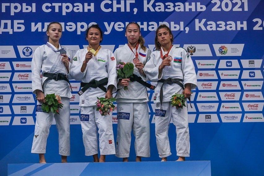 Якутские дзюдоистки выиграли серебро и бронзу на Играх стран СНГ в Казани