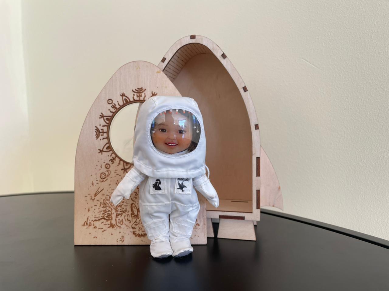 Якутская кукла может отправиться на Луну