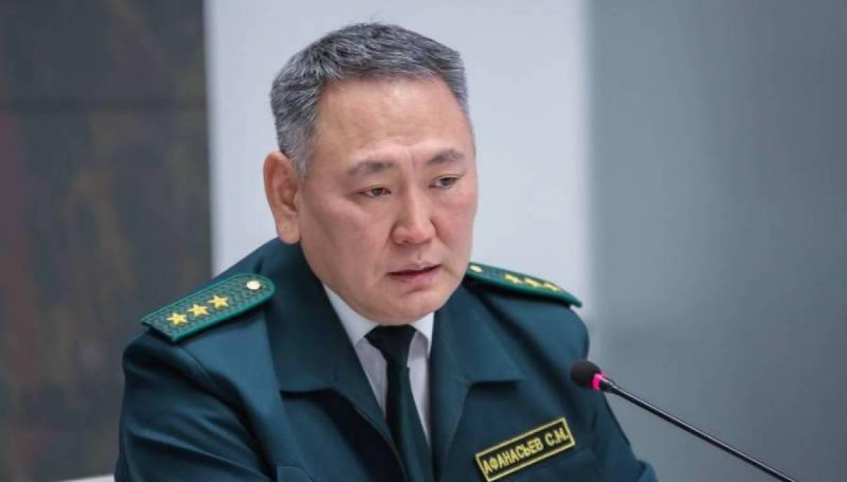 Сахамин Афанасьев освобожден от должности министра экологии Якутии