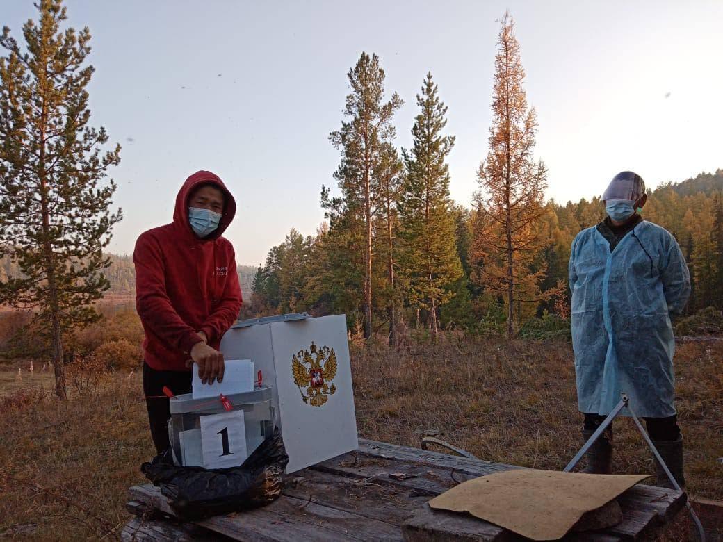 Досрочные выборы завершаются в отдаленных местностях Якутии