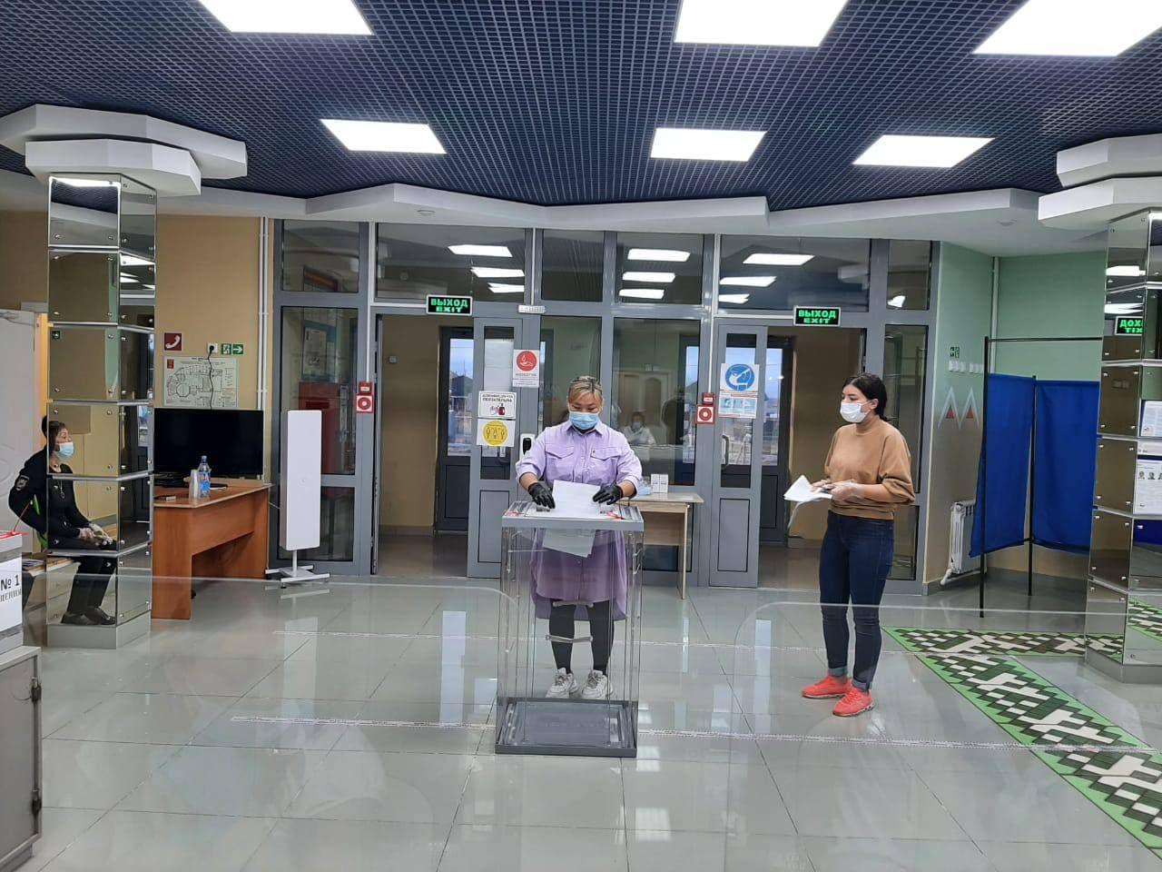 Голосование на выборах в Госдуму РФ стартовало в Якутии