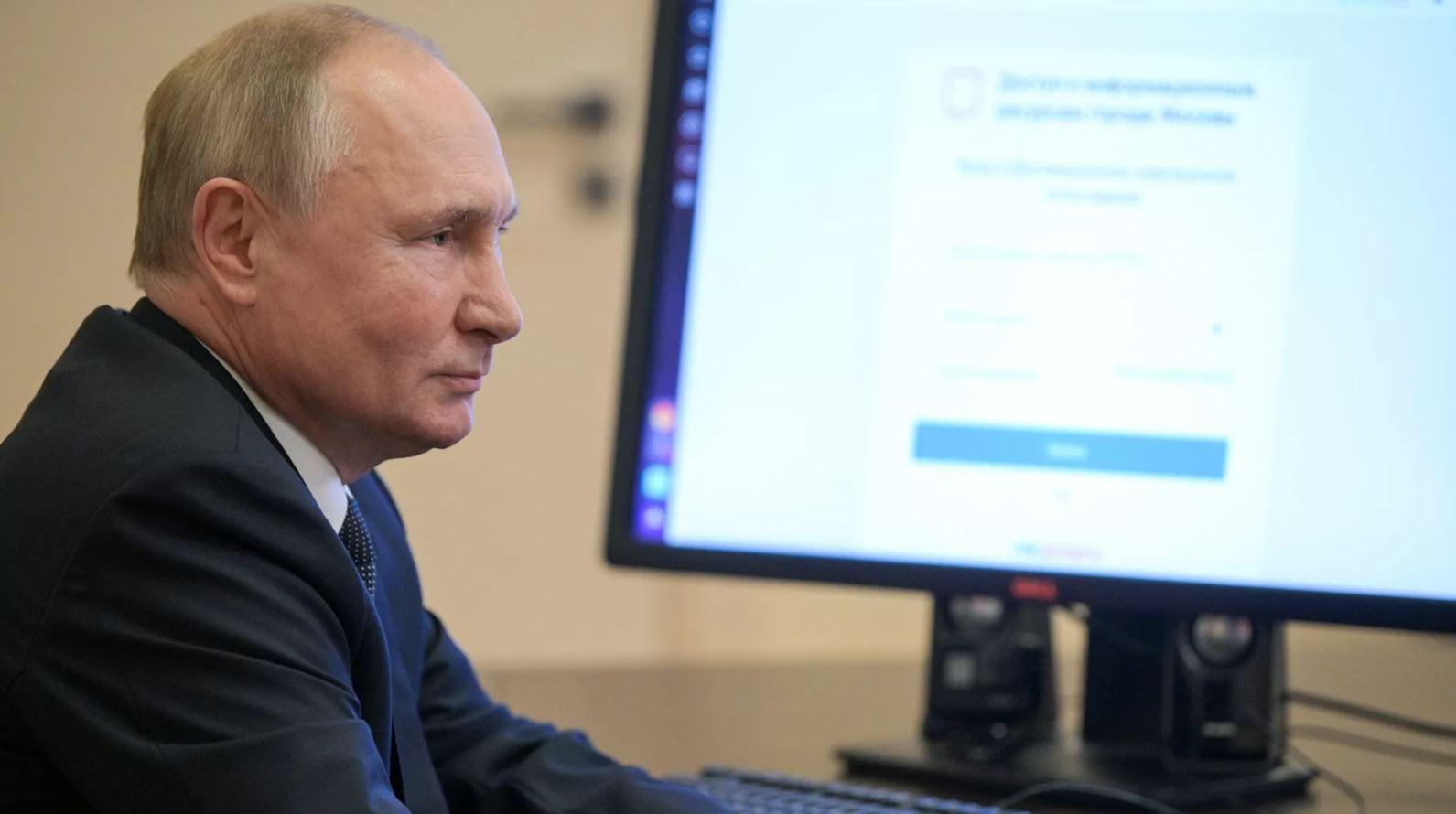 Владимир Путин поблагодарил россиян за активную жизненную позицию на выборах
