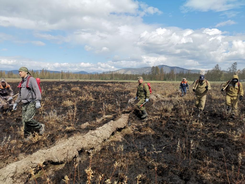 Пожары на площади более 20 тысяч га потушили в Якутии за сутки