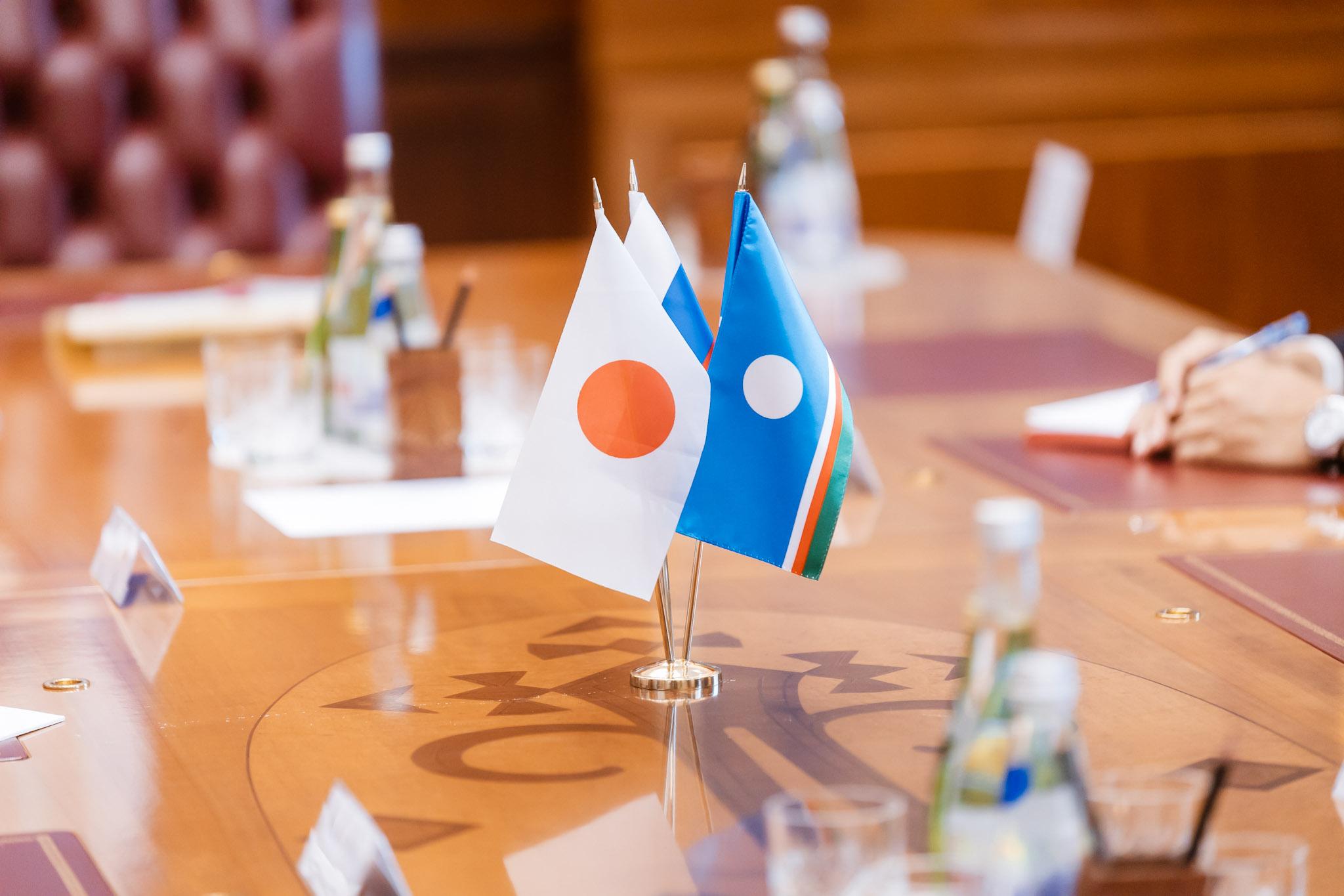 Глава Якутии встретился с административным директором Японского комитета содействия региону